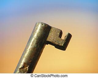 Detail of key