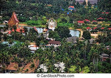 Koh Samui, Thailand - Detail of Koh Samui, Thailand, August ...