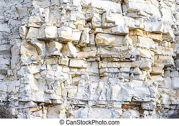 detail of limestone rocks