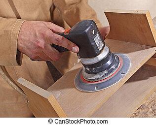 detail of manual work