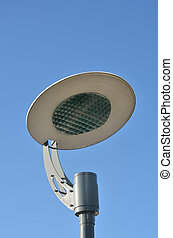 Detail of modern streetlamp
