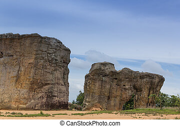 Detail of Monolithic -chaiyaphum province, Thailand