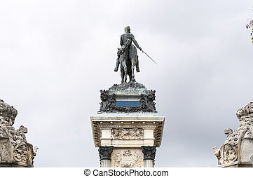 Monument to King Alfonso XII