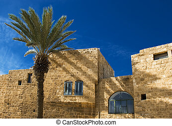 Detail of old city Jaffa