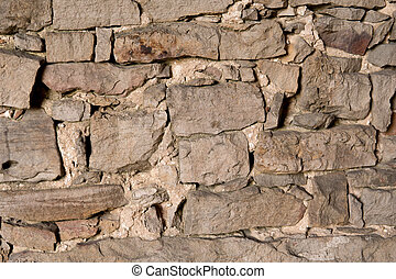 detail of old wall