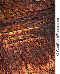 detail of old wooden boards