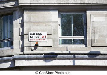 Oxford Street sign