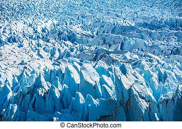 Detail of Perito Moreno Glacier in Argentina