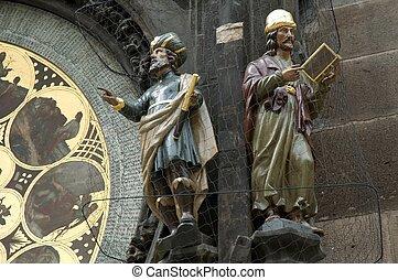 Astronomical Clock - Detail of Prague Astronomical Clock