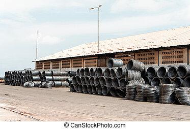 roll of steel
