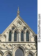 detail of Salisbury Cathedral