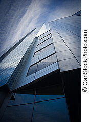 Detail of skyscraper