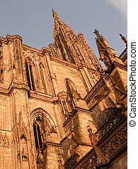 Detail of Strasbourg Cathedral