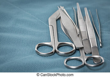 Detail of surgical instruments
