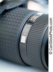 Detail of telephoto lens