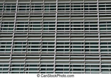 Detail of the European parliament