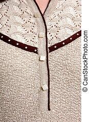 Detail of the feminine cloth