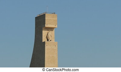 Detail of the Monument to the Italian sailors in Brindisi -...