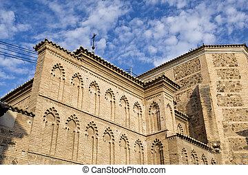 Convent of Santa Isabel de los Reyes - Detail of the Mudejar...