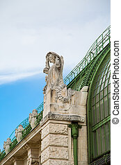 Detail of the Schmetterling haus or butterfly house in...