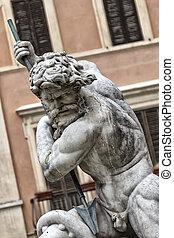 the statue of Neptune