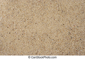 Detail of the surface of rounded sand