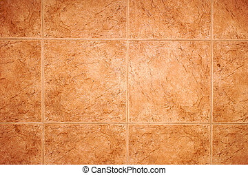 detail of terra cotta tile floor, can be used as wall paper or background