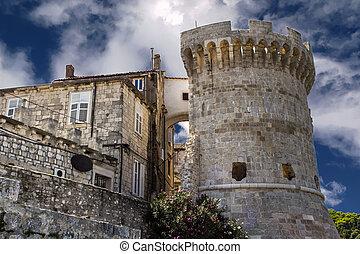 Tower Kanalevic at Korcula, Croatia