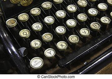 Detail of Typewriter