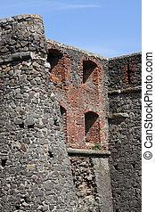 wall of Uzhhorod castle