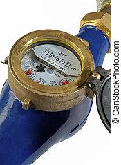detail of water meter