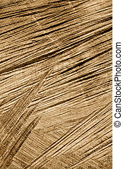 Detail of wooden cut texture - rings and saw cuts - oak - background
