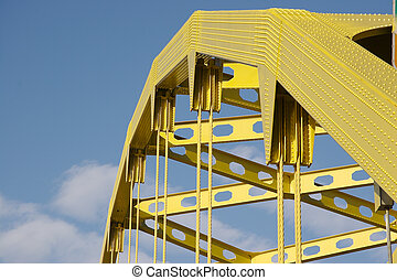 Bridge Arch - Detail of Yellow Bridge Arch