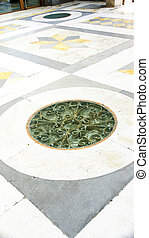 Detail soil Umberto I Gallery