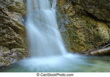 Detail waterfall