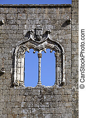detail window facade of the castle
