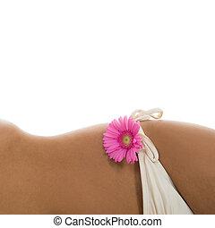 Detail woman with bikini