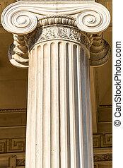 Ionic Column - Detailed Ancient Greek Ionic Column