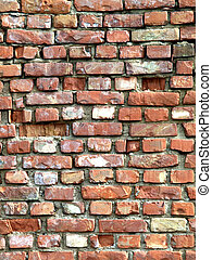 Detailed brick wall background - texture set #3
