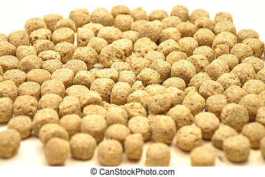 Detailed but simple image of dog food