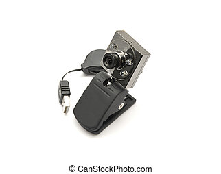 Detailed but simple image of web cam