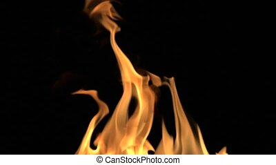 Detailed Fire Background Full Hd