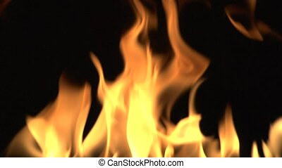 Detailed Fire Background Full Hd.