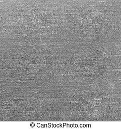 Grey Grunge Linen Texture, Vertical Gray Textured Burlap Fabric Background