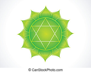 detailed heart chakra