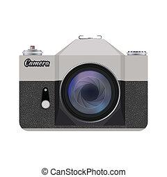 detailed icon retro camera
