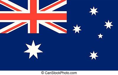 National Flag Australia - Detailed Illustration National...