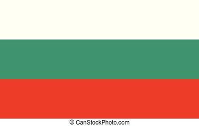 National Flag Bulgaria - Detailed Illustration National Flag...