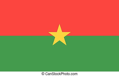 National Flag Burkina Faso