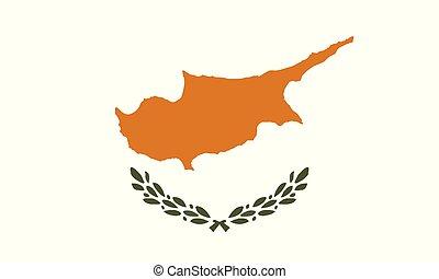 National Flag Cyprus - Detailed Illustration National Flag...